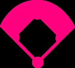 Baseball Field Pink Clip Art at Clker.com - vector clip art online ...
