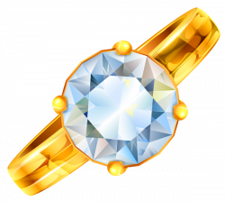 Gold Ring with Diamond PNG Clipart | PNG-jpg | Pinterest | Gold ...
