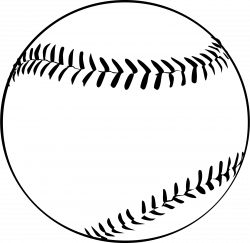 baseball-clipart-black-and-white-Baseball.png (1600×1558) BIG ...
