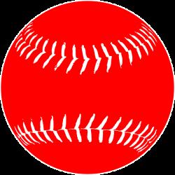 Red White Softball Clip Art at Clker.com - vector clip art online ...
