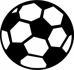 Silhouette Soccer Ball at GetDrawings.com | Free for personal use ...
