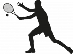 Tennis Ball Silhouette at GetDrawings.com | Free for personal use ...