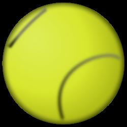 OnlineLabels Clip Art - Fuzzy Tennis Ball