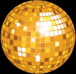 Yellow Disco Ball PNG Clip Art Image | Клипарты | Pinterest | Disco ...