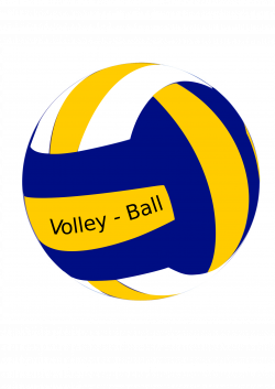 Clipart - VolleyBall Female Ball