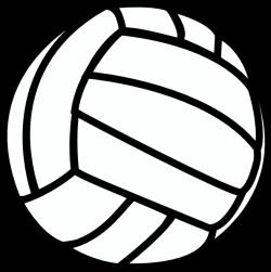 clipart volleyball | Volleyball clip art - vector clip art online ...