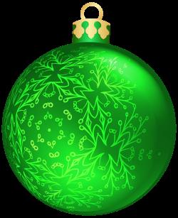 Green Christmas Ball PNG Clipart - Best WEB Clipart