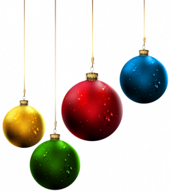 Christmas Balls PNG Clip-Art Image | Christmas Clipart | Pinterest ...