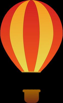 Hot Air Balloon Clip Art Black And White   Clipart Panda - Free ...