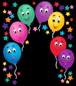 Balloons Cartoon Decoration PNG Clipart Picture | Fotókeretek ...