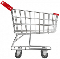 Shopping Cart Transparent PNG Clip Art Image   LAUNDRY AND CLEANING ...