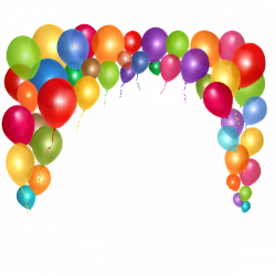Party Balloons Cartoon Clip Art Images Are Free To Copy For Your Own ...