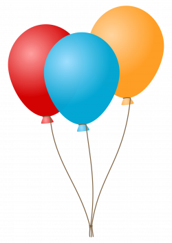 Clipart - Balloons