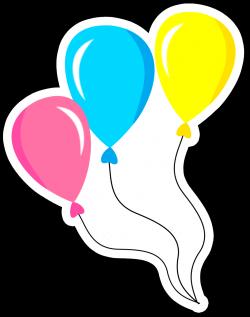 balões+contorno+branco.png (1153×1465)   Mi primer añito ...