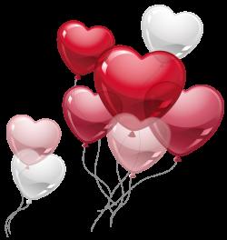 Cute Heart Balloons PNG Clipart Picture | Clip Art | Pinterest ...