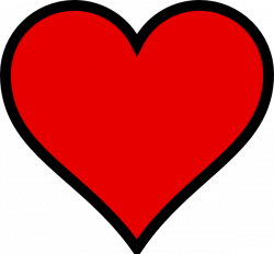 Heart With Transparent Background Clip Art at Clker.com - vector ...