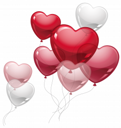 Cute Heart Balloons PNG Clipart Picture   Gallery Yopriceville ...