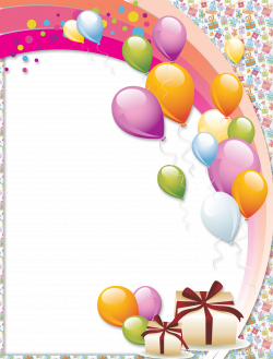 Transparent Birthday Frame | Gallery Yopriceville - High-Quality ...