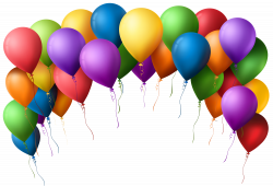 Balloon Arch Transparent PNG Clip Art Image | Gallery Yopriceville ...