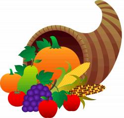 Happy Thanksgiving Cornucopia Clipart - Clipart Kid | CALENDARS ...