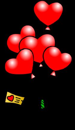 Heart Balloons T   Free Images at Clker.com - vector clip art online ...