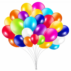 Bunch of Balloons PNG Clipart Image | Gallery Yopriceville - High ...
