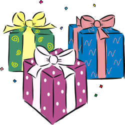 28+ Collection of Birthday Gifts Clipart Png | High quality, free ...