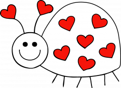 Hearts In A Row Clipart | Clipart Panda - Free Clipart Images