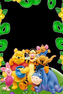 Winnie Pooh Frames - Encode clipart to Base64
