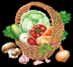 Basket with Vegetables PNG Clipart Image | KÉPSZERKESZTÉSHEZ VALÓ ...