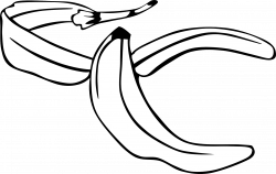 black and white banana clipart download - Clip Art. Net