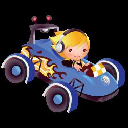 Cartoon Clip art - Girl driving a car 1000*1000 transprent Png Free ...