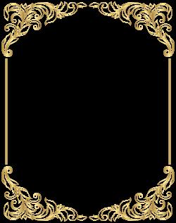 White Pink Border Collie Clip art - Border Frame Decorative PNG Gold ...