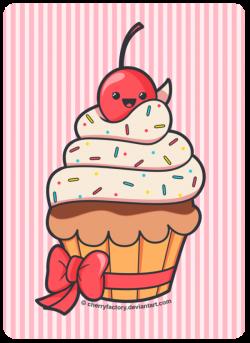 Cute Cupcake by CherryFactory.deviantart.com | Cupcake <3 ...