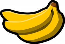 Banana clip art 3 - Clipartix