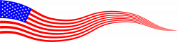 Wavy USA Flag Banner by @GDJ, Wavy USA Flag Banner, on @openclipart ...