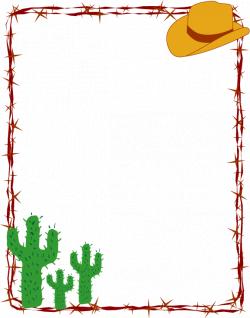 western page border designs - Google Search | western clip art ...