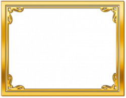 gold frame border free clipart - Google Search | Life Improvers ...