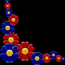 flowers png | Yuri Flower Corner clip art - vector clip art online ...