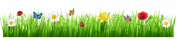 Spring Grass with Flowers PNG Clipart Picture | Gallery ...