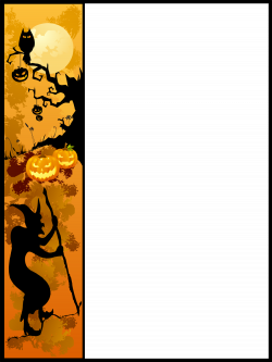 Halloween Border Clipart | Clipart Panda - Free Clipart Images