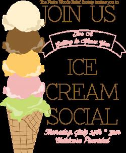 Ice Cream Social Poster | Handmade in the Heartland | Pinterest ...
