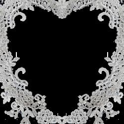 lace heart border | Free Vectors | Pinterest | Clip art