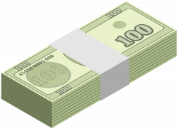 Wad of Money Transparent Clip Art Image | Gallery Yopriceville ...