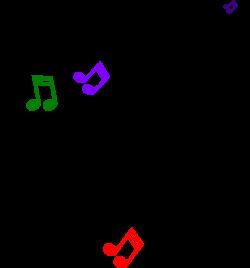 Clip Art Musical Notes Symbols Clipart - Clipart Kid | AVT Project 4 ...