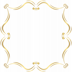 Gold Border PNG Clip Art Image   Gallery Yopriceville - High ...