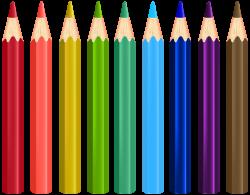 Colour Pencils Transparent PNG Clip Art Image | Gallery ...