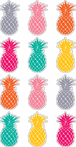 Tropical Punch Pineapples Mini Accents | Pinterest | Display ...