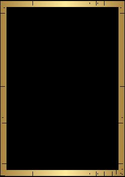 Golden Deco Border Transparent PNG Clip Art   Gallery Yopriceville ...