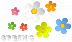 Spring and Flowers Decor PNG Clipart | Gallery Yopriceville - High ...